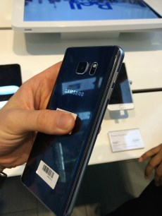 Galaxy Note 5 back feature