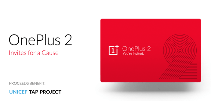 OnePlus 2 invite for a cause