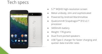 Nexus 6P Slide 1