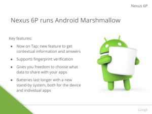 Nexus 6P Slide 5