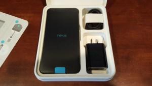 Nexus 6P wrapped in packaging