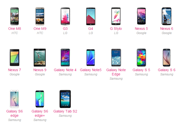 Android Marshmallow T-Mobile