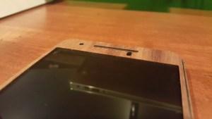 Nexus 6P Toast wooden cover top speaker