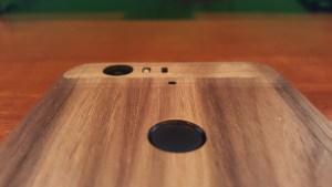 Nexus 6P Toast wooden cover fingerprint sensor