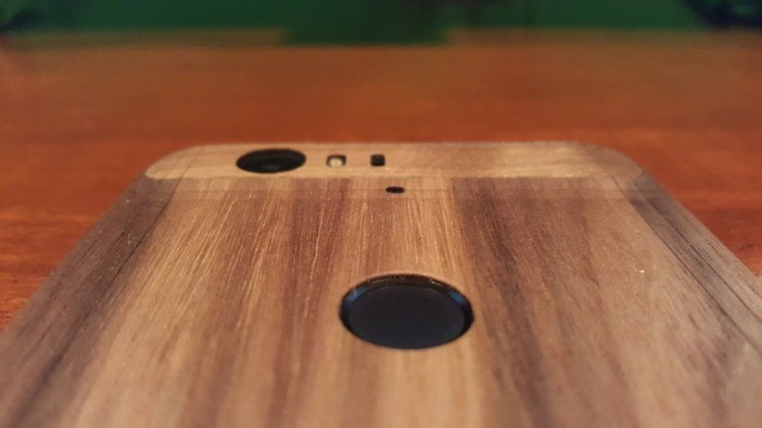 Nexus 6P Toast wooden cover fingerprint sensor