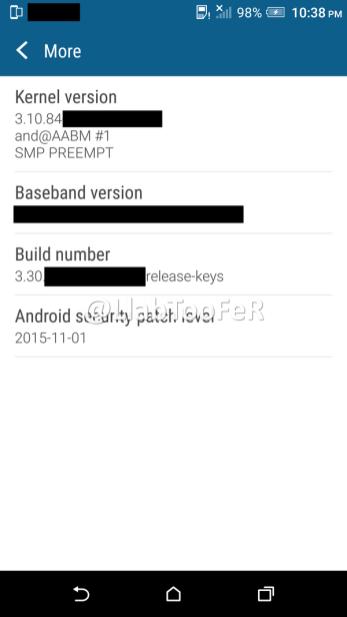 HTC One M9 Android Marshmallow Sense 7.0 screenshot 12