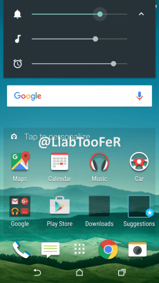 HTC One M9 Android Marshmallow Sense 7.0 screenshot 7
