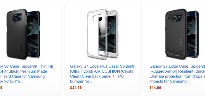 Galaxy S7 Spigen cases