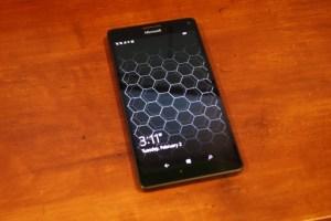 Lumia 950 XL display