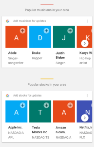 Google Now suggestions 1