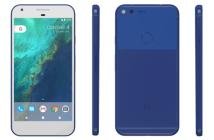 Google Pixel in Blue