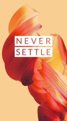 OnePlus 5 wallpaper Never Settle 2