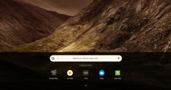 Chrome OS new launcher