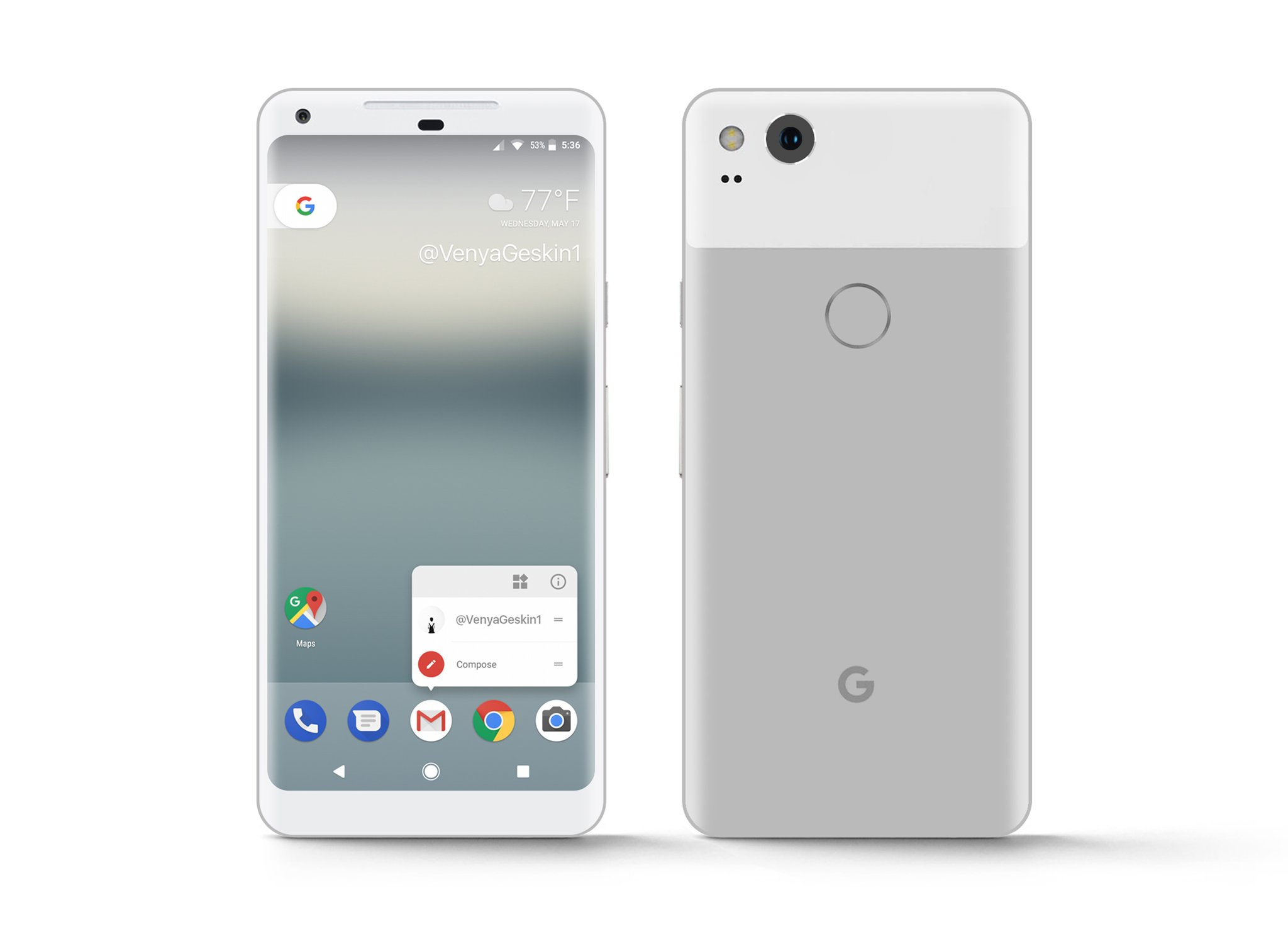 Pixel XL 2017 Very Silver