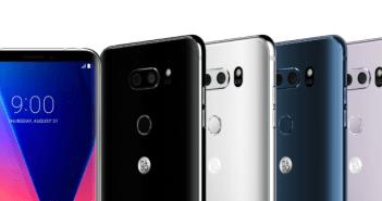 LG V30 color assortment