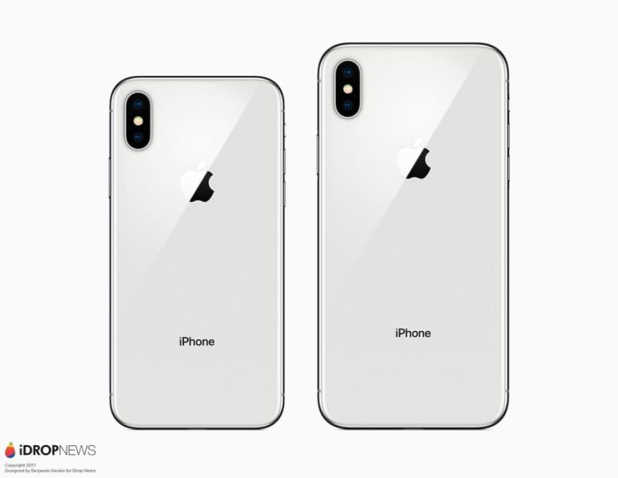 iPhone X and iPhone X Plus back