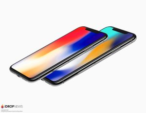 iPhone X and iPhone X Plus front side stacked