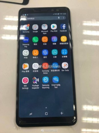 Galaxy A8 Plus full device