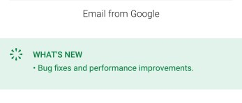 Gmail Release Notes