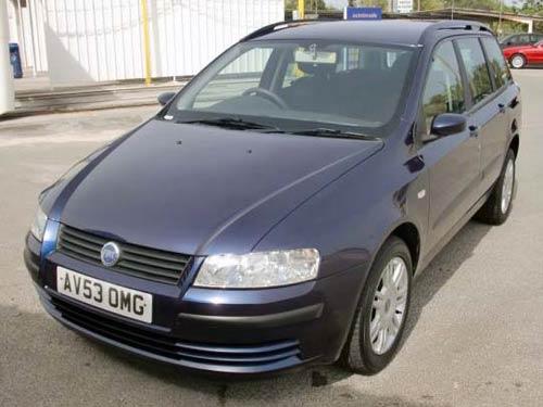 Fiat Stilo Estate  Used Car Costa Blanca Spain Second