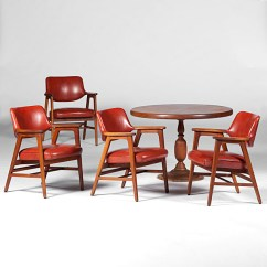 Wh Gunlocke Chair Mid Century Modern Dining Chairs Canada W H And Table Cowan S Auction House The Tap To Expand