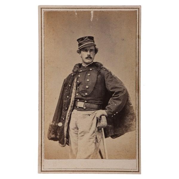Colonel George . Waring Jr. Civil War Cdv Cowan'