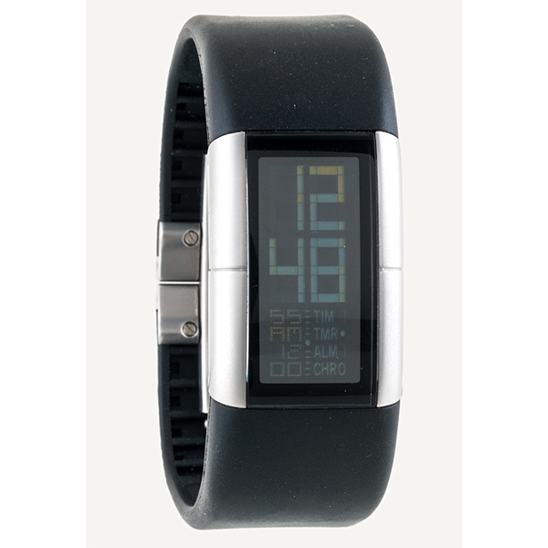 Fossil Philippe Starck Digital Watch   Cowan's Auction House: The Midwest's Most Trusted Auction House / Antiques / Fine Art / Art Appraisals