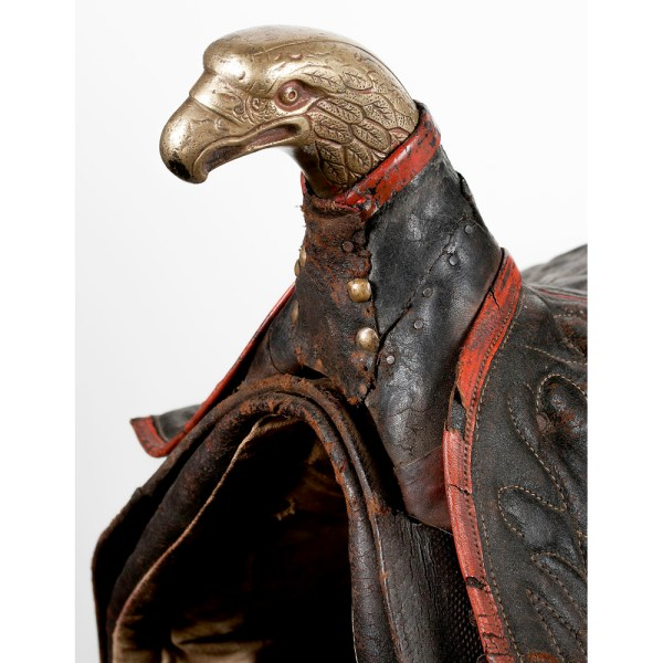 Eagle Head Pommel Officer' Saddle With Stirrup Cowan