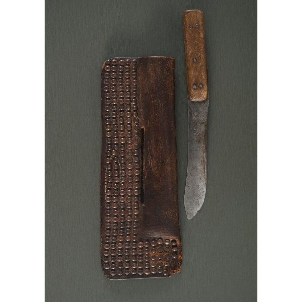 Northern Plains Tacked Knife Sheath With