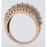 One Carat Total Weight Diamond Ring in 10 Karat Yellow ...
