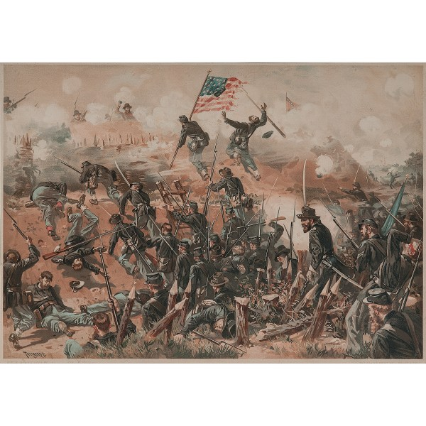 Civil War Complete Collection Of 18 Lithographs Published