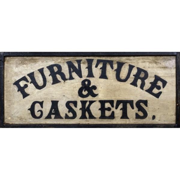 Furniture Maker' Trade Sign Cowan' Auction House