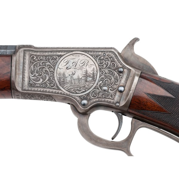 Factory Engraved Marlin Model 1891 Variation Rifle