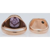 10 Karat Gold Masonic Rings | Cowan's Auction House: The ...