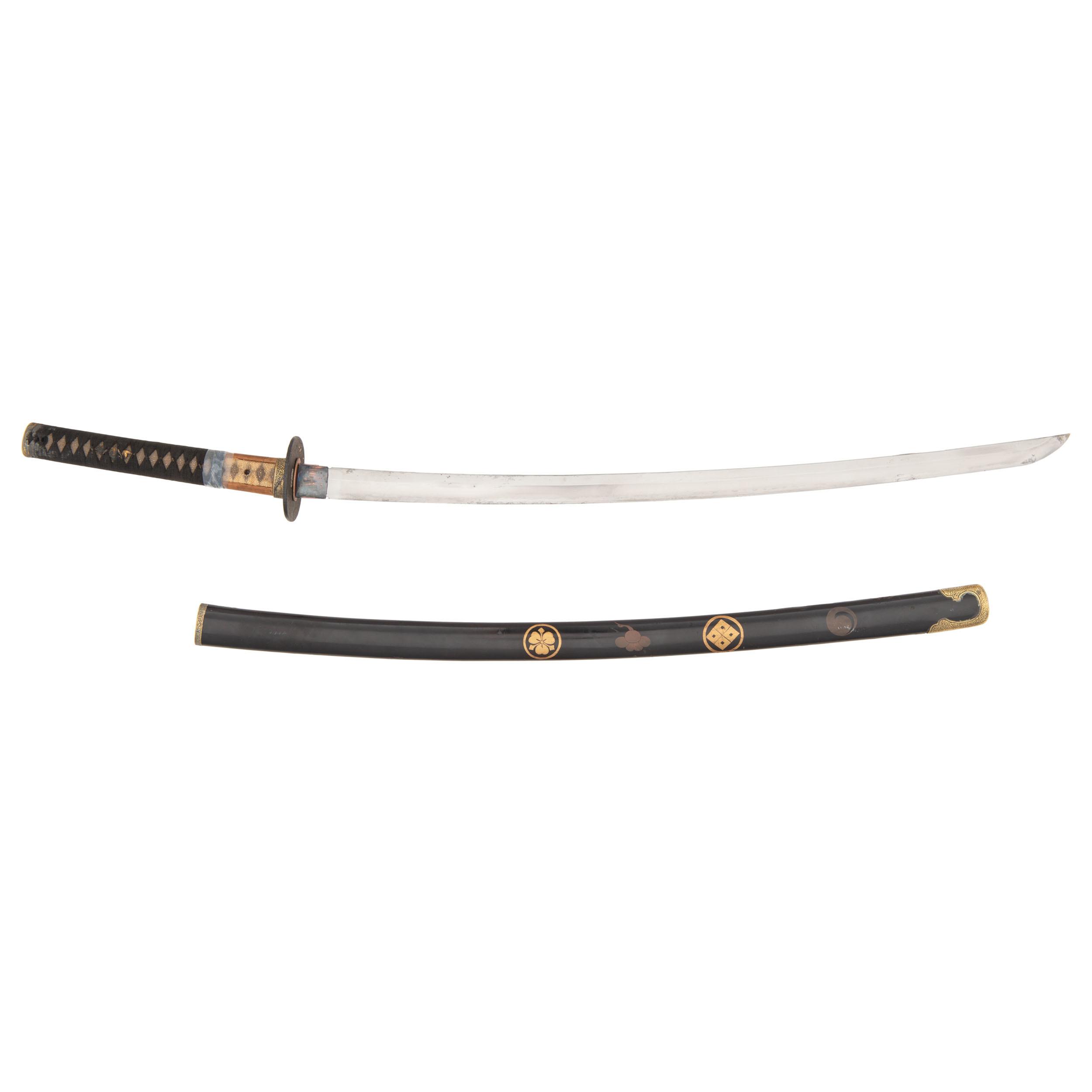 A Good Shin Shinto Period Japanese Sword Katana In Edo