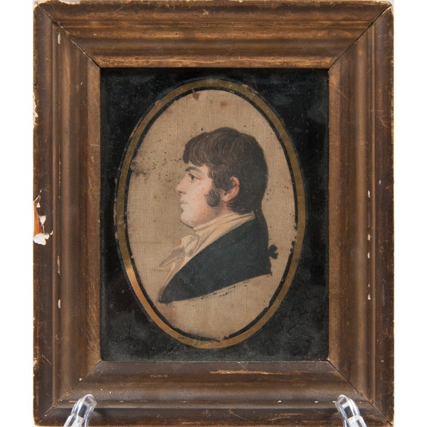 Historic Maryland Miniature Portraits Early 19th Century