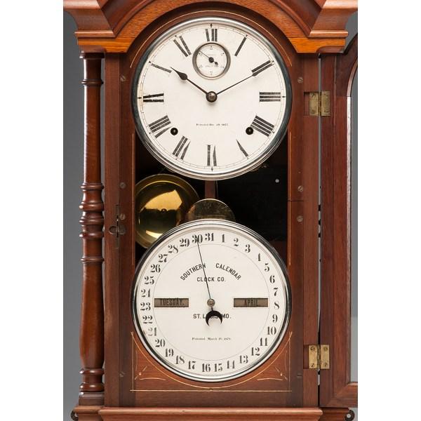 Southern Calendar Clock . Fashion Cowan'