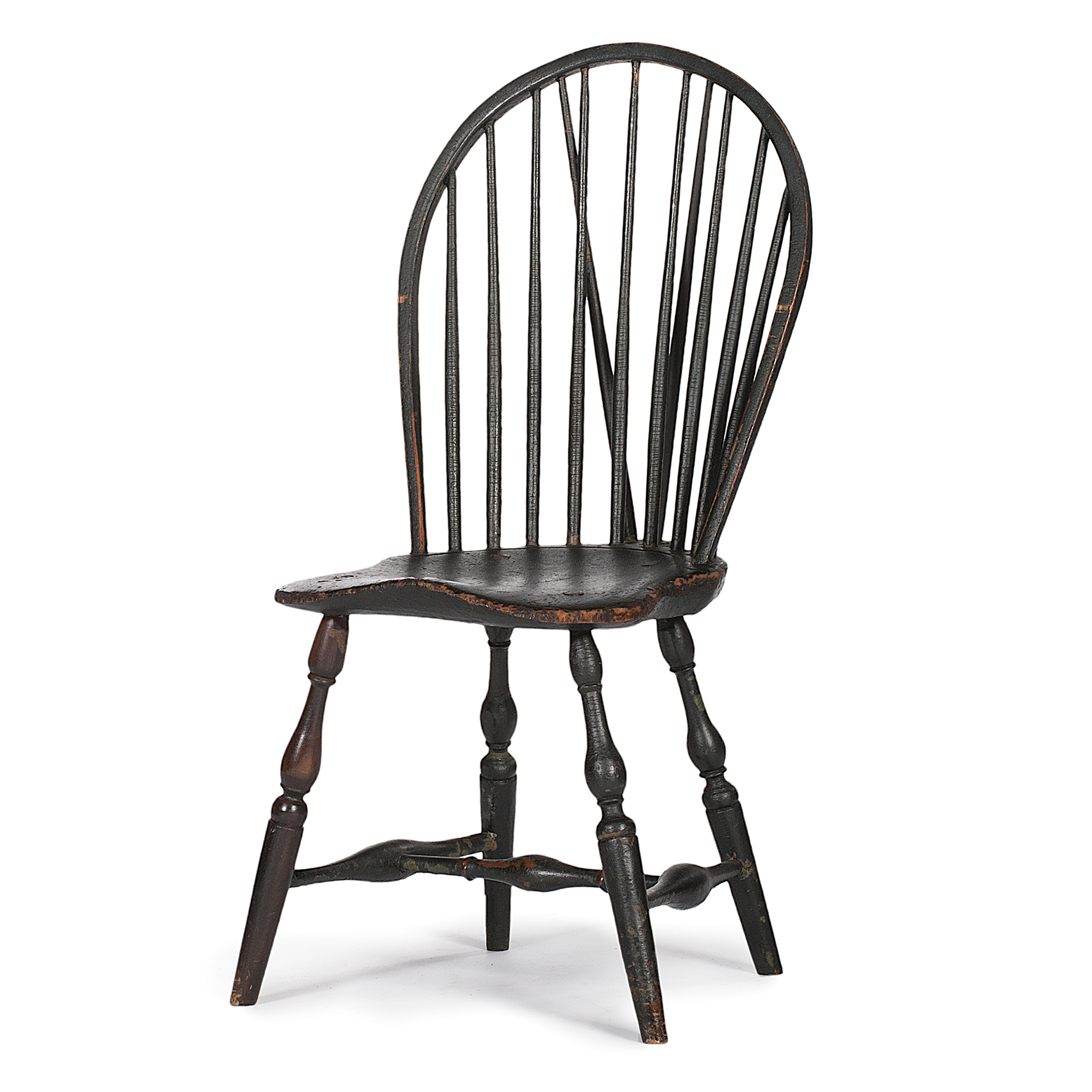 Brace Back Windsor Side Chair  Cowans Auction House The