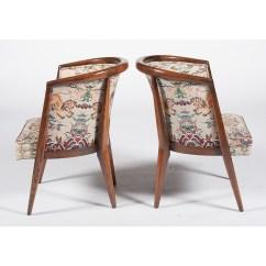 Mid Century Barrel Dining Chair Pbk Anywhere Modern Romweber Jasper Table And