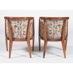 Mid Century Barrel Dining Chair White Wicker Chairs For Sale Modern Romweber Jasper Table And