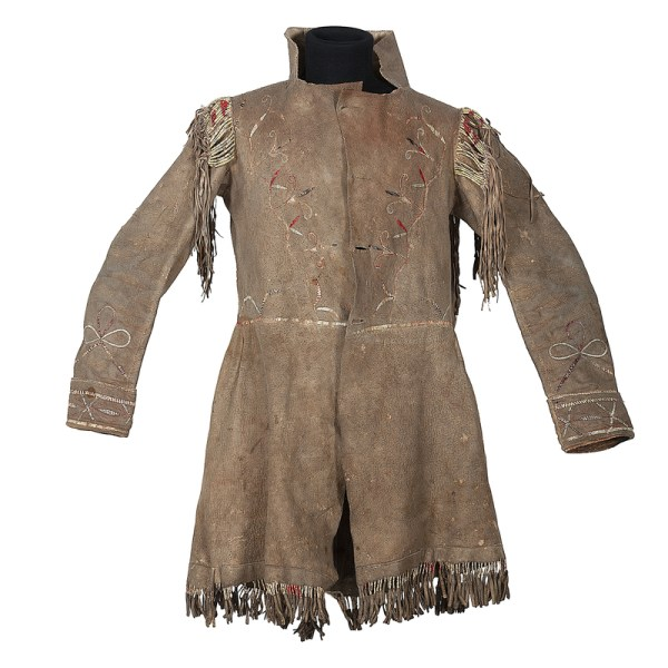 Metis Quilled Hide Frock Coat Cowan' Auction House