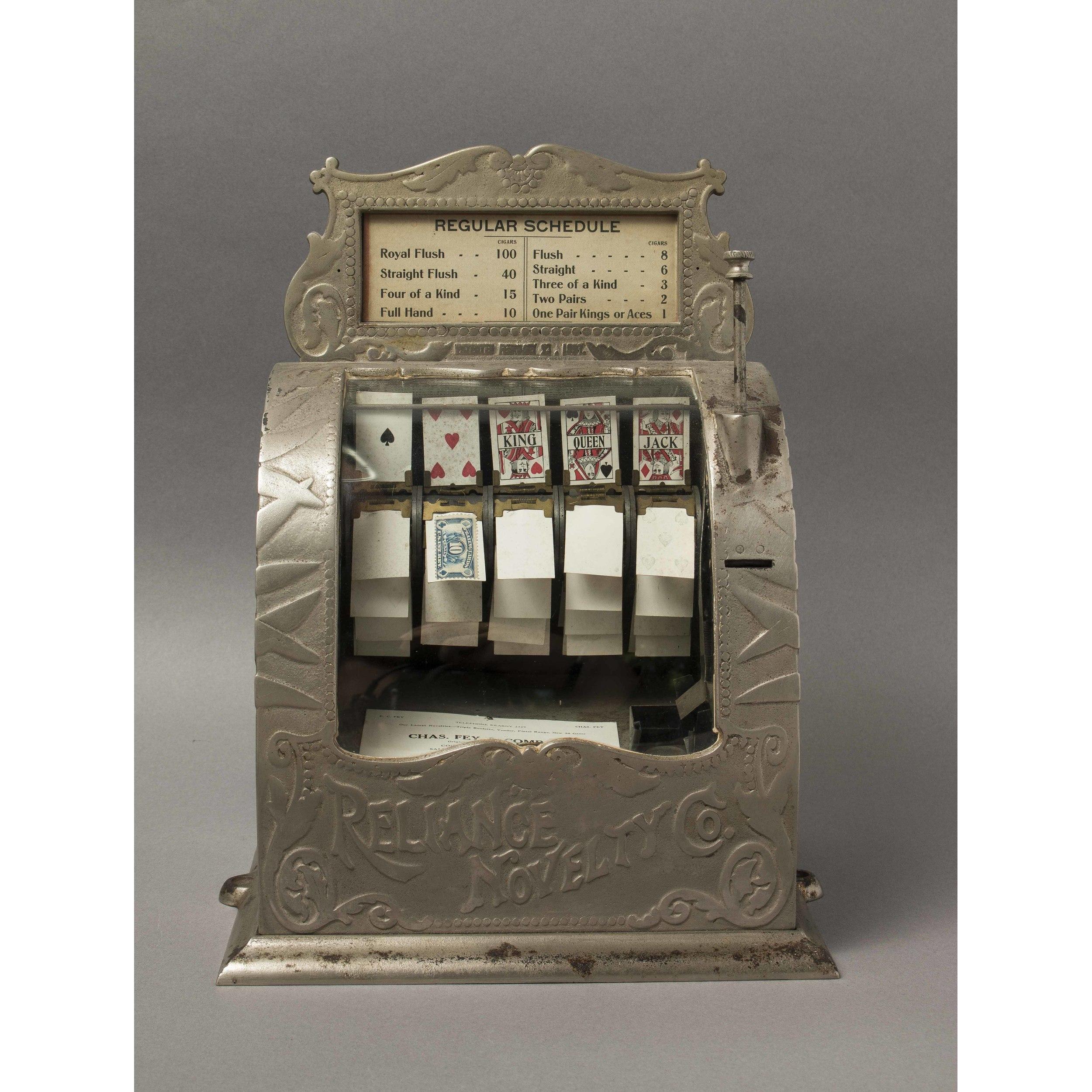 Reliance Novelty Co Cast Iron Trade Stimulator