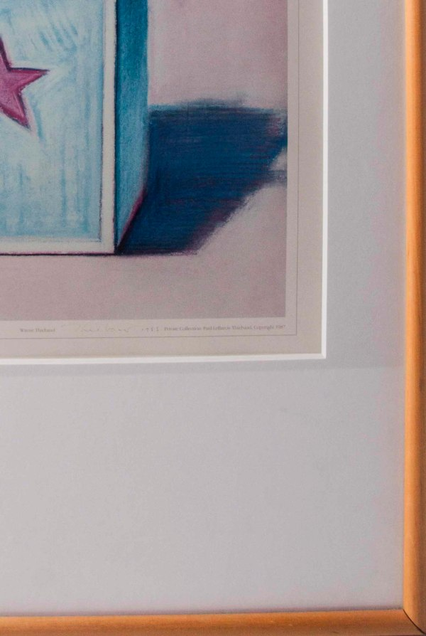 Signed Wayne Thiebaud Poster Witherell' Auction House