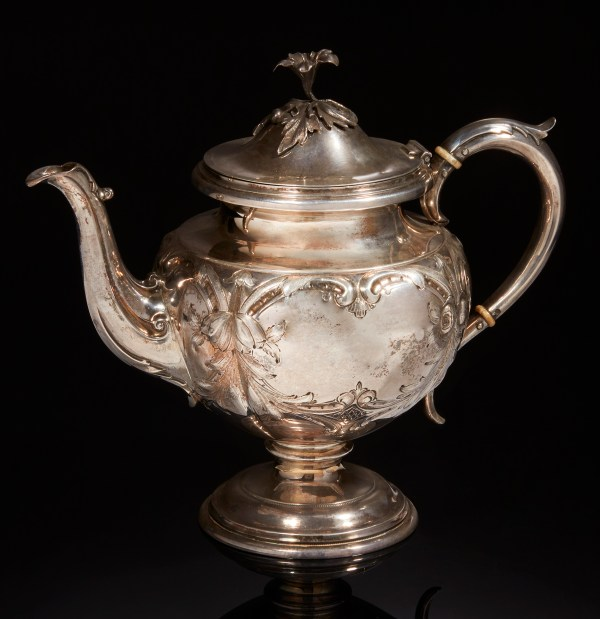 Coin Silver Teapot Witherell' Auction House