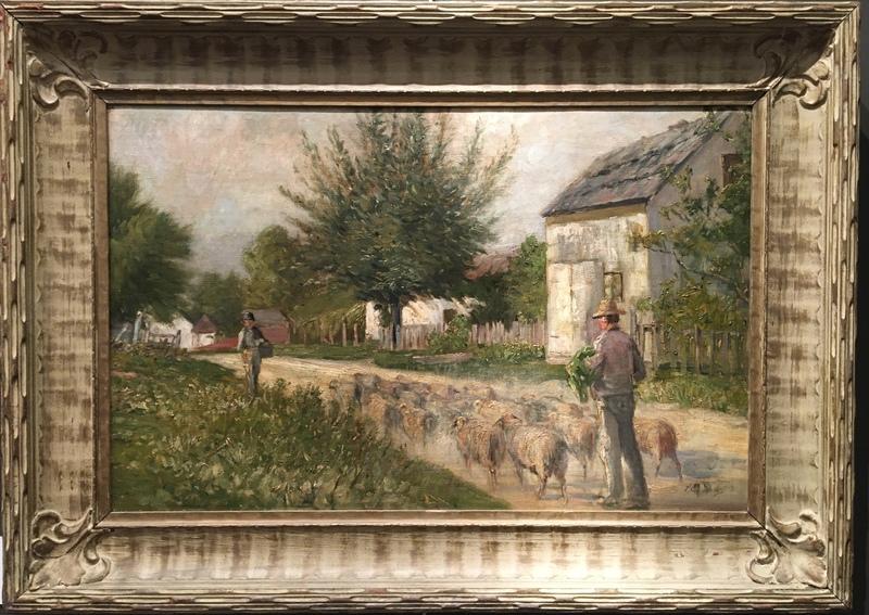 Approaching the Sheep Herd