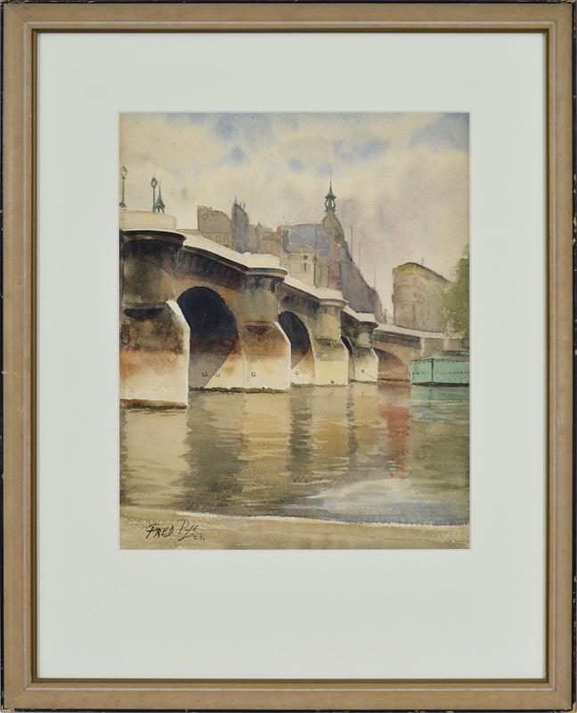 Bridge Scene, 1923