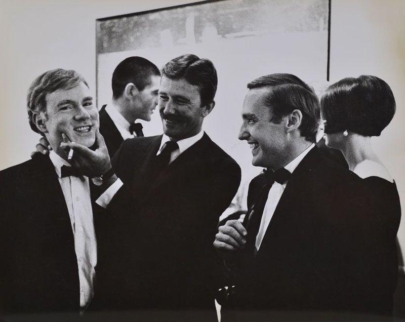 Andy Warhol & Dennis Hopper @ the Marcel Duchamp Retrospective, Ed. 1/15