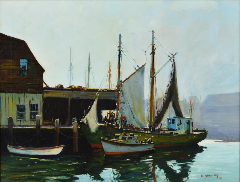 Boats at Dock, 1948