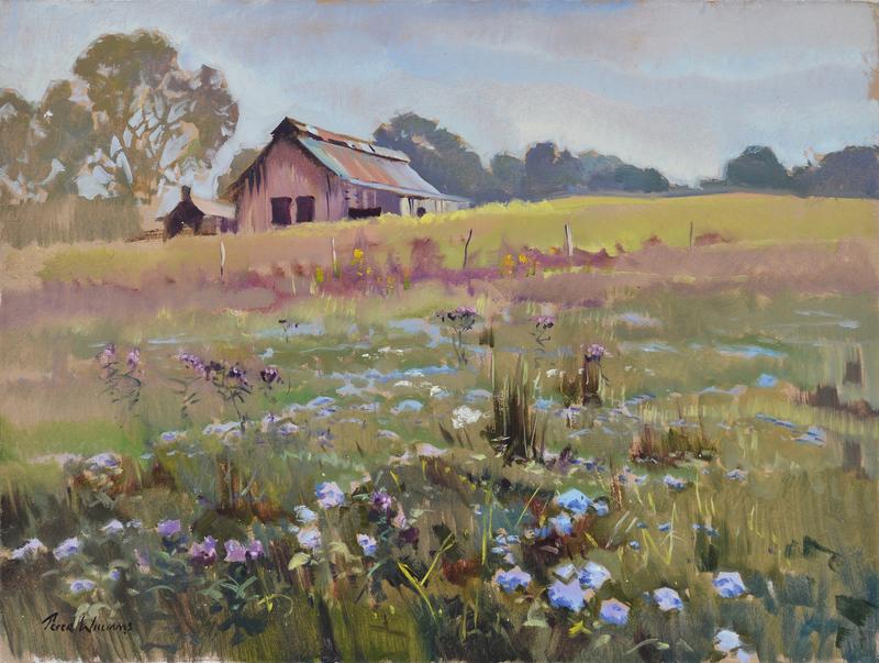 Barn Flowers, Kentucky