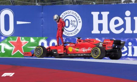 Ferrari F1 russianGP Vettel Φέτελ